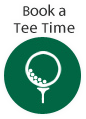 golf club on tee in green circle